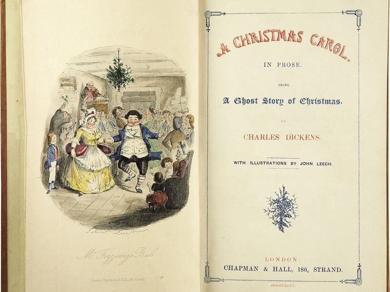 Classic Review: A Christmas Carol, by Charles Dickens (from the December 1868 issue of The ...